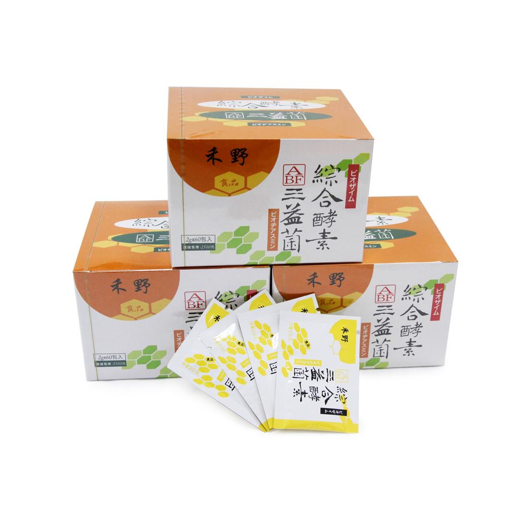 禾野綜合酵素三益菌(60入)